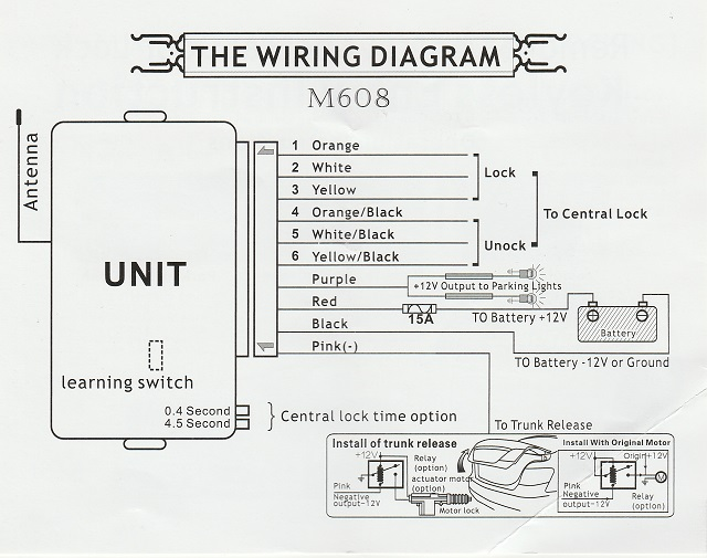 Wiring Diagram For Door Entry System : Australian rr forums help with installing keyless entry