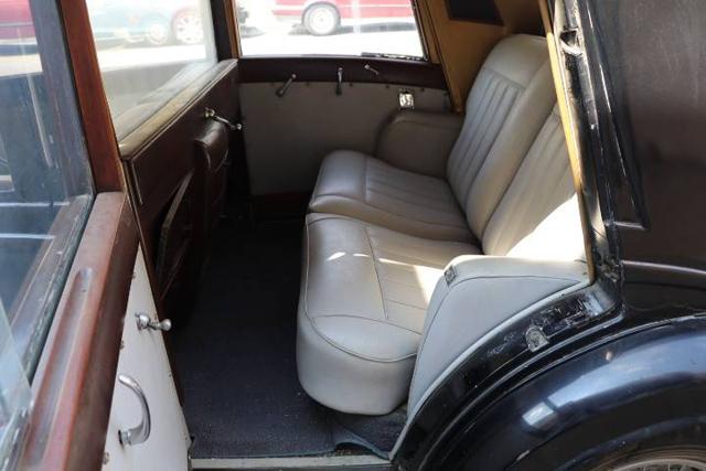 Interior, rear