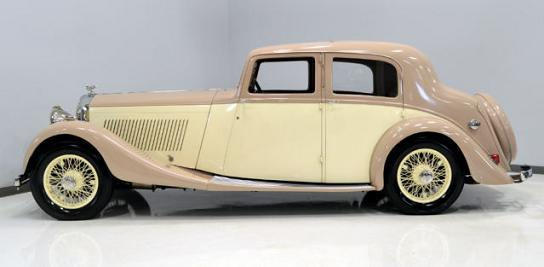 '38 Derby Bentley
