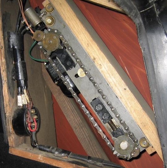 Rear blind motor WDC6