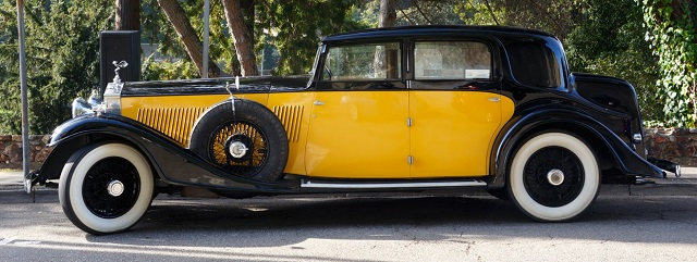 1934 Phantom II Freestone & Webb