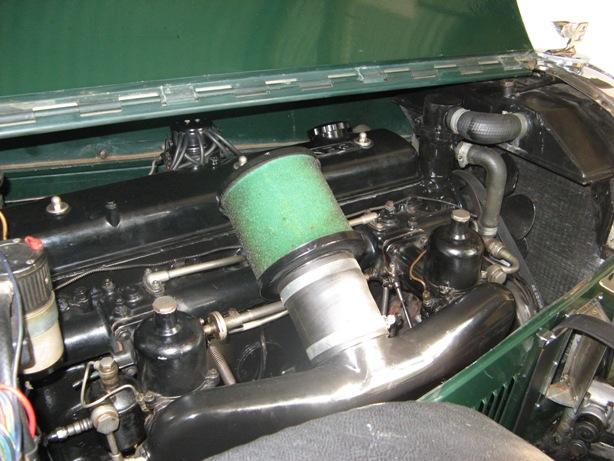 mk 6 special engine bay