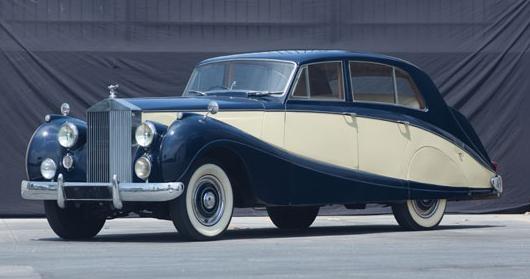 1954 Silver Dawn STH53