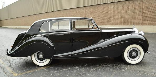 1953 Silver Wraith WVH45, HJ Mulliner 7249 Touring Saloon