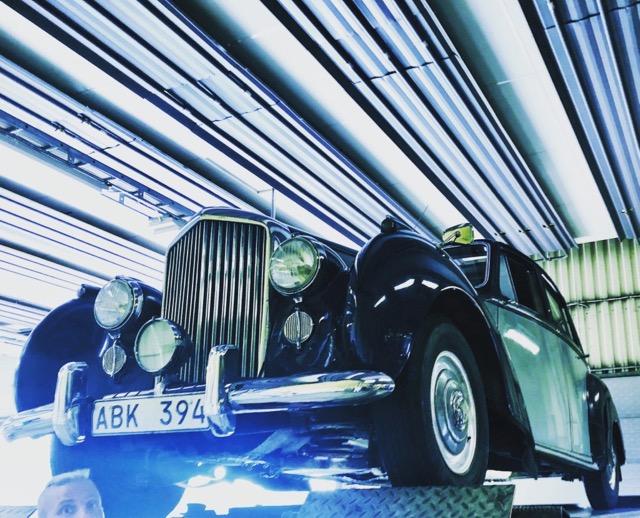 1952 Bentley MK VI B217NY
