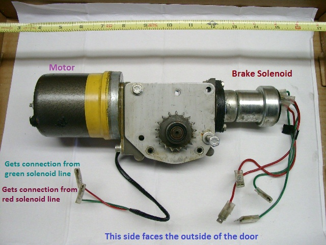 Whole Window Motor Assy