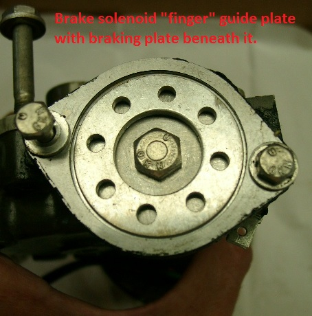 Brake guide and braking plate