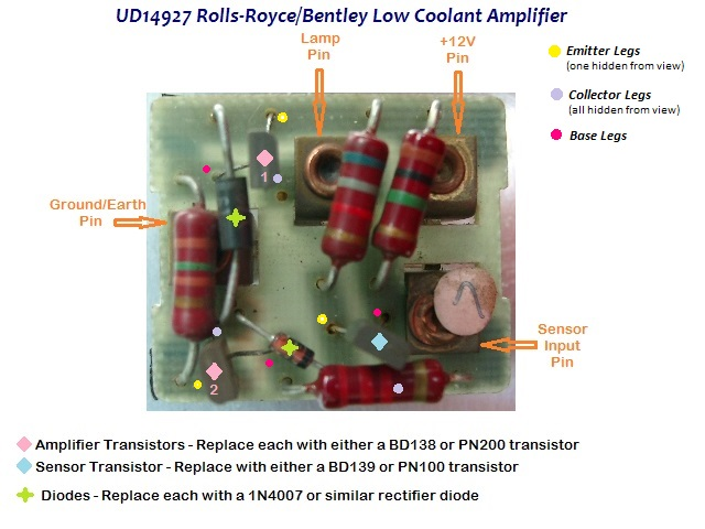UD19427 PCB Annotated