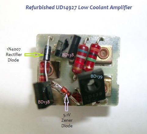 Refurbished UD14927 PCB