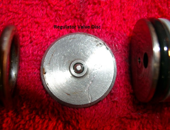 Regulator Valve Disc