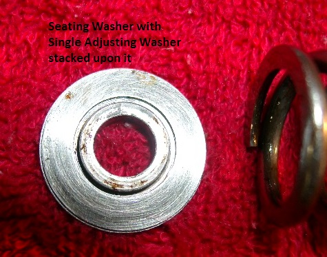 Regulator Valve Seating & Adjusting Washers
