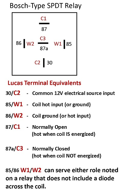 16732 australian rr forums lucas relays lucas relay 22ra wiring diagram at bayanpartner.co