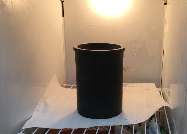 liner in freezer