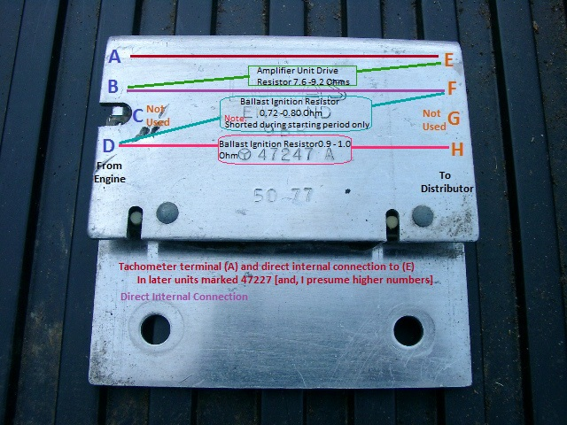 Australian rr forums ballast resistors through the years