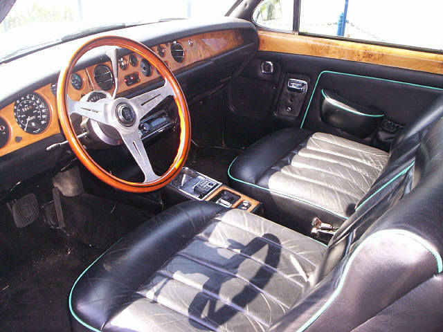 Note the color-coordinated interior trim - seemingly on original hides