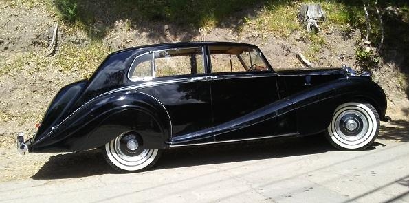 '53 HLM Silver Wraith Saloon Style 7249