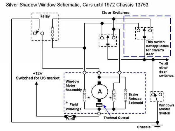 Rolls Royce Shadow Wiring Diagram
