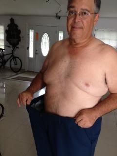 Still a fat ass but slowly working my way down