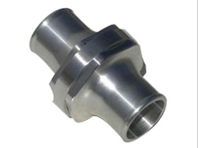 Billet aluminum inline thermostat housings are readily available for <USD$100