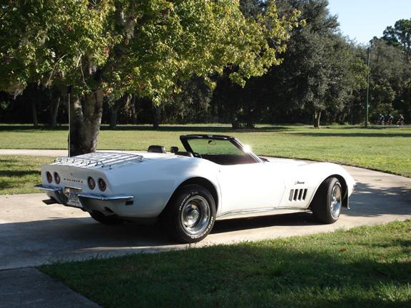 1969 350/350 Corvette convertible