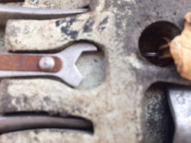 Broken wrench