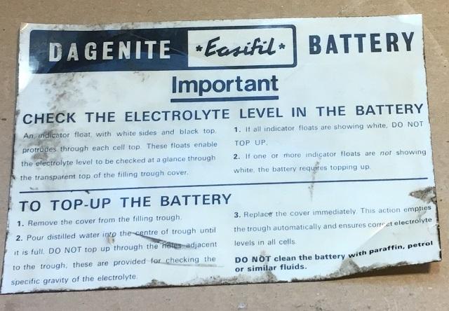 Original Dagenite sticker