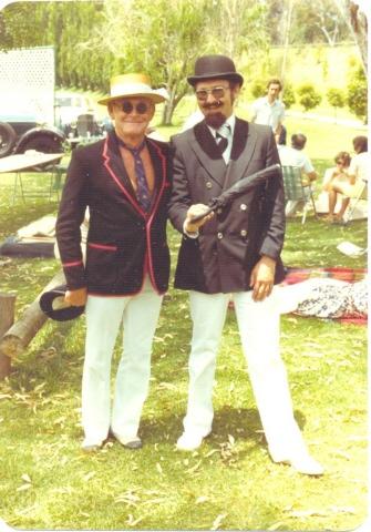 Terry and I  Chrismas1981
