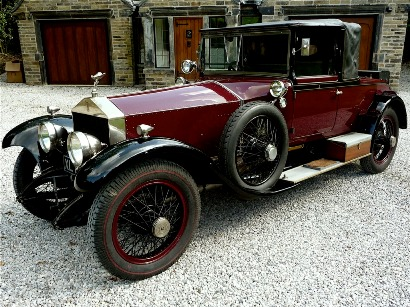 1921 Silver Ghost Eng. 0483